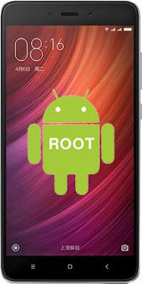 Cara Root Xiaomi Redmi Note 4 Tanpa PC