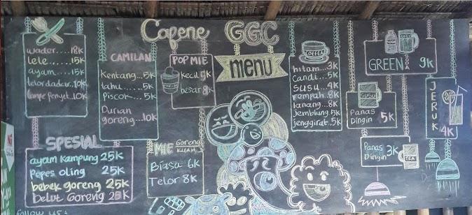 Menu Kafe Green Gumuk Candi Banyuwangi Top