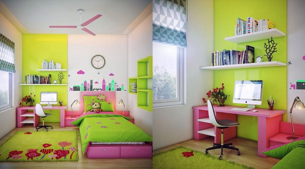 Desain Kamar Tidur Anak Penuh Warna 2016 Rumah Idaman