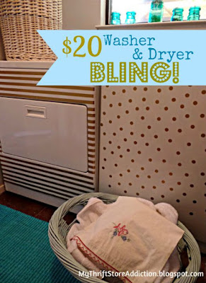 Washer and dryer bling