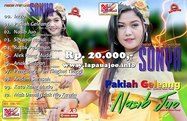 Sonia - Nasib Juo (Album Nada Minang House)
