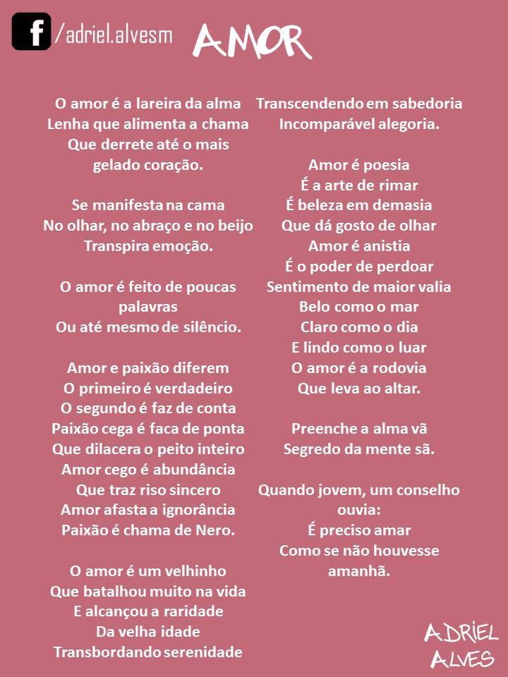 Adriel Alves Poesia Amor