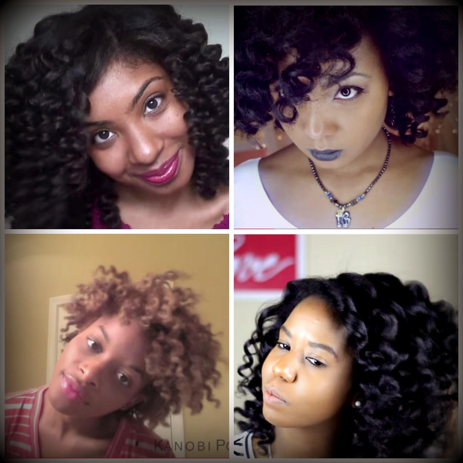 Curl Wand Curls On Natural Hair