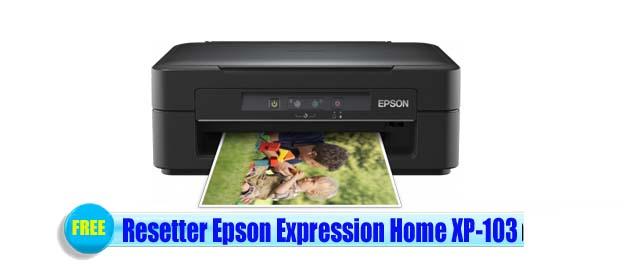 Epson Expression Home XP-103 Adjustment Program