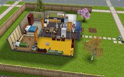 sims freeplay room plot idea housing toddler