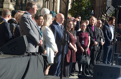 2c - Photos from the vigil held in honour of those who died during the Manchester attack