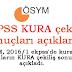 EKPSS KURA çekiliş Sonuçları açıklandı