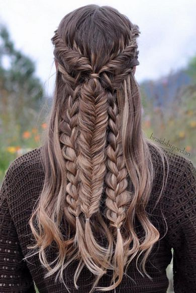 aqu las mejores imgenes de peinados de moda con trenzas invierno como fuente de inspiracin