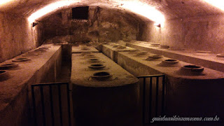 Silos, interior Castel Sant'Angelo