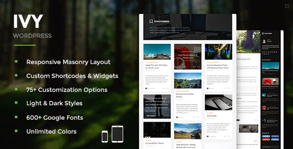 Masonry WordPress Theme