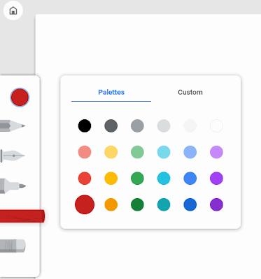 Menggambar secara online dengan Google Chrome Canvas-gambar c