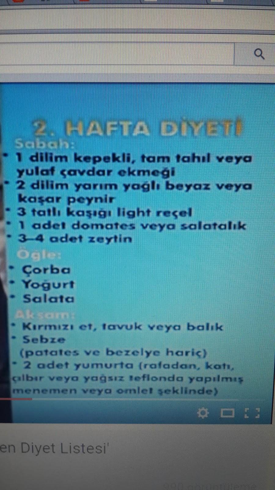 2 Haftada 4 Kilo Verdiren Diyet-Murat Topoğlu
