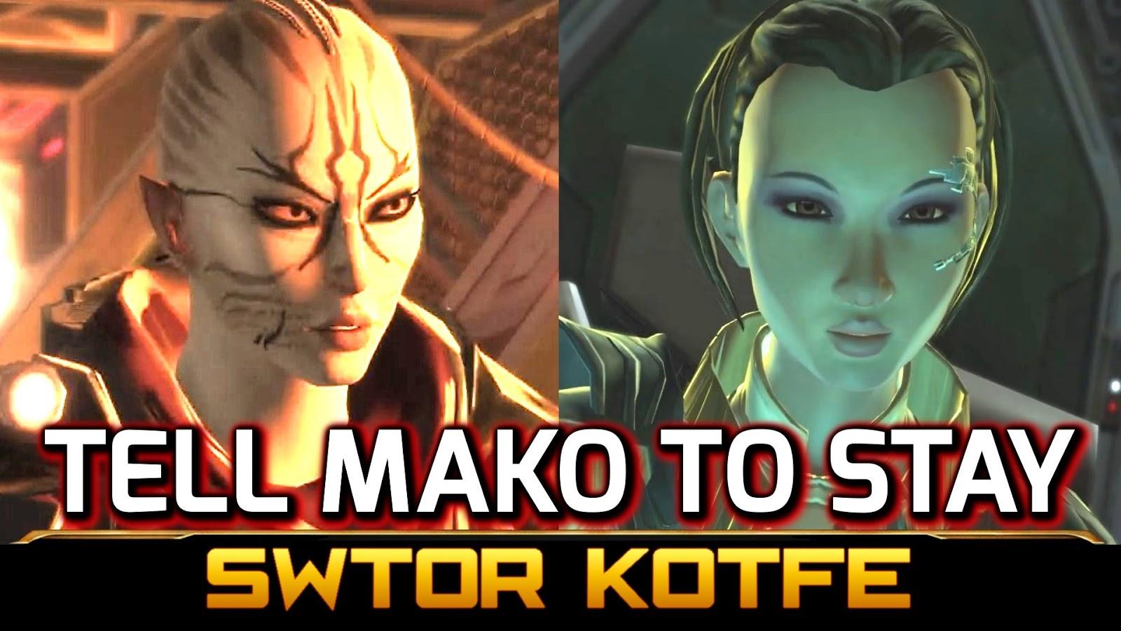 Swtor Mako Kotfe Knights Of The Fallen Empire