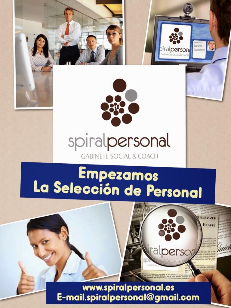 SPIRAL PERSONAL . SELECCIONA. Monitor/a especializado en Salud Mental.