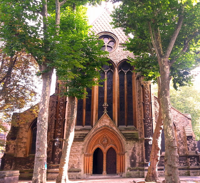London St Mary Abbots church