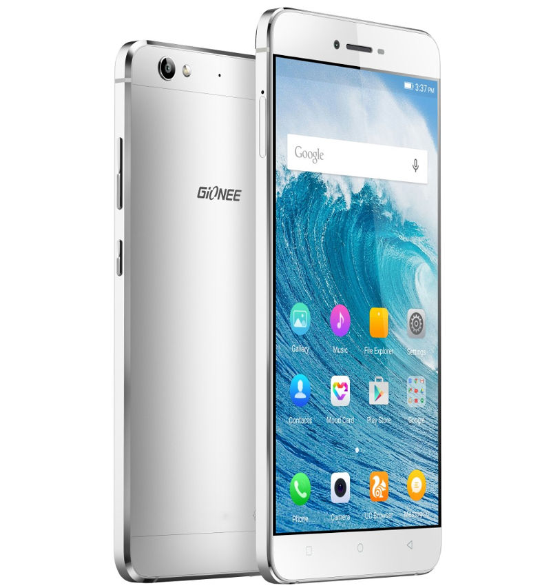 Gionee S6 With 5 5-Inch Display, 6 9mm slim metal body