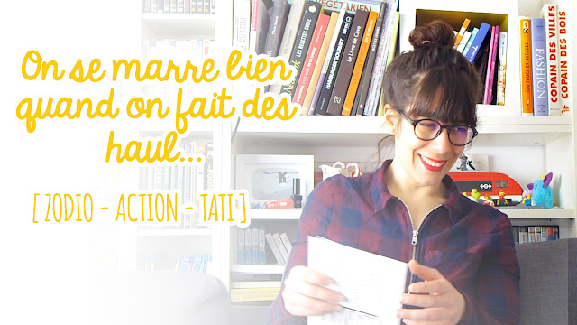 Haul Décoration et Boustifaille - Zodio/Action/Tati - Dans ma ...