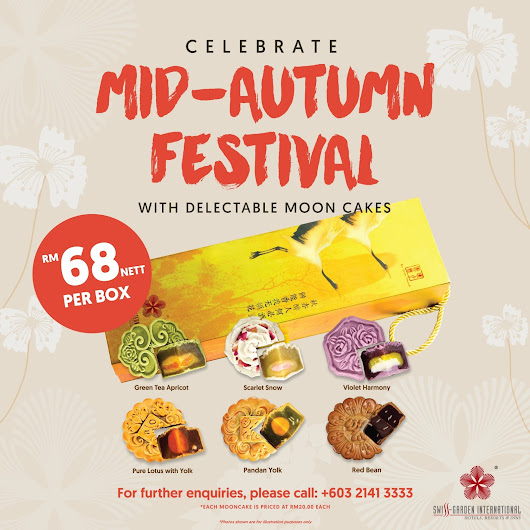 Celebrate Mid-Autumn Festival with Delectable Mooncakes!