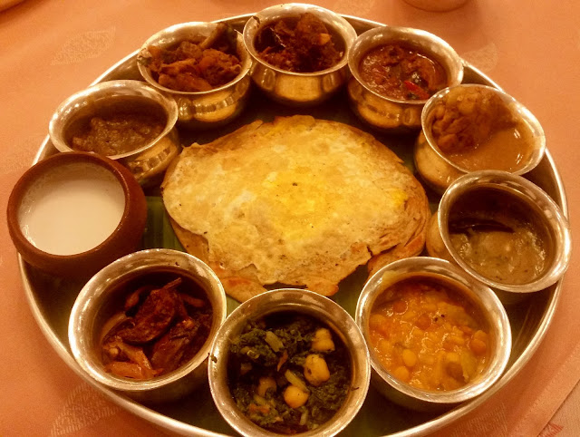 The Rayalaseema Thali