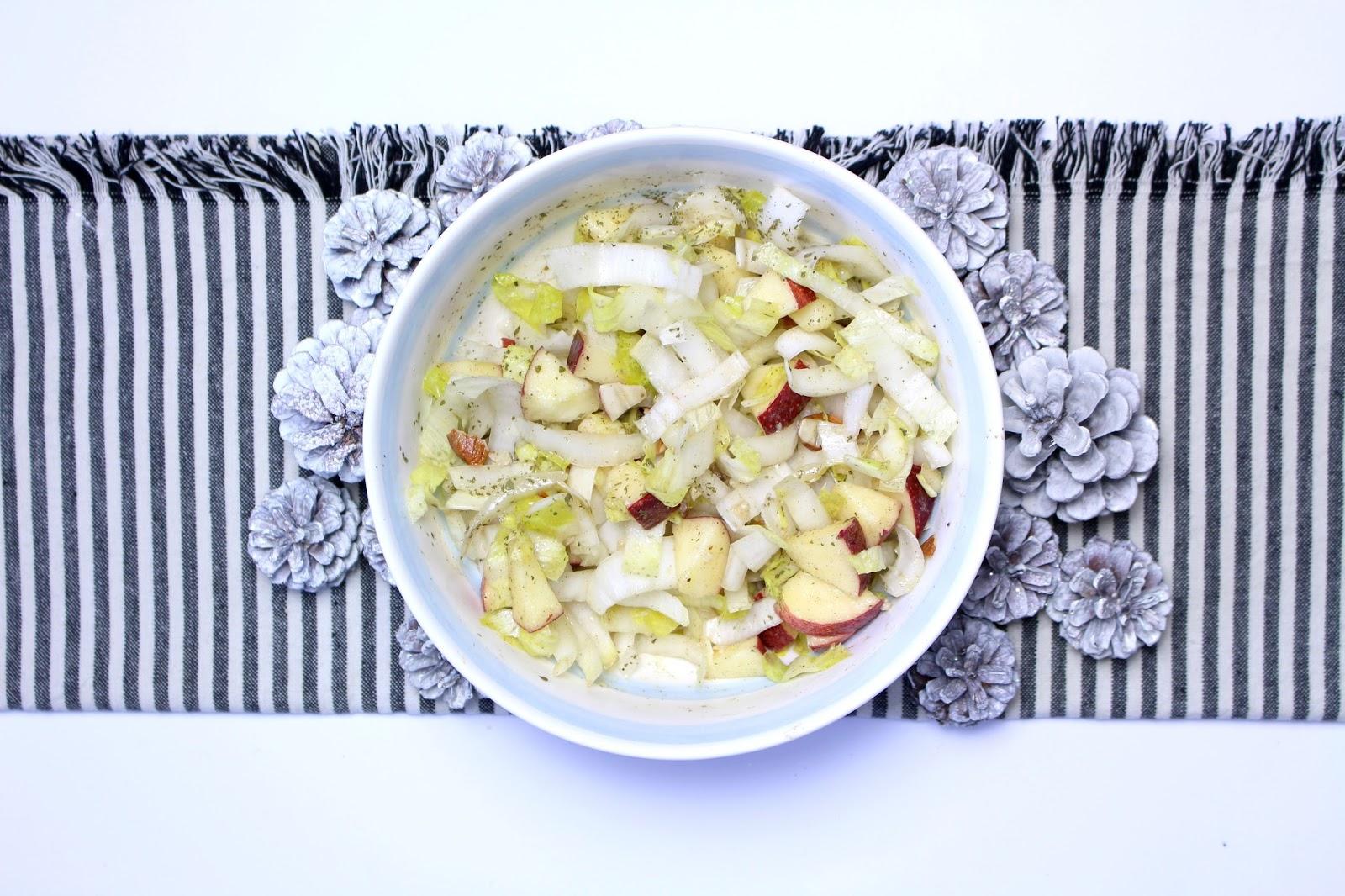 Salade d'endives salé sucré