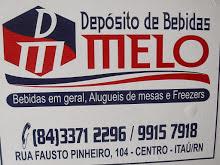 """DEPÃ""""SITO DE BEBIDAS MELO"""