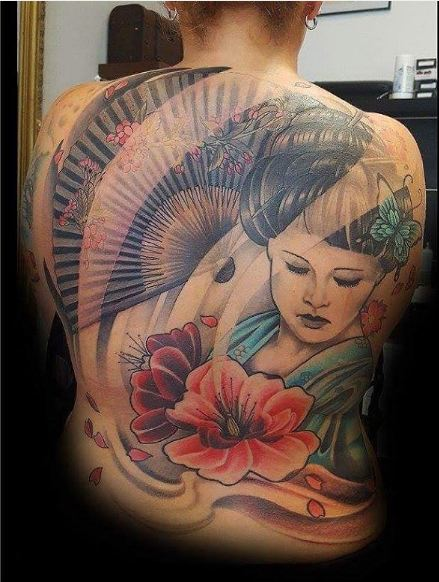 50 Japanese Geisha Tattoos For Women 2019 Tattoosboygirl