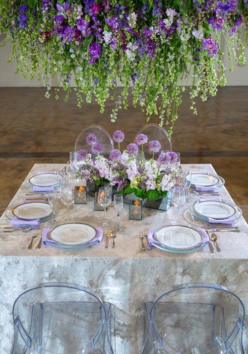 ultra violet mesa posta lilás
