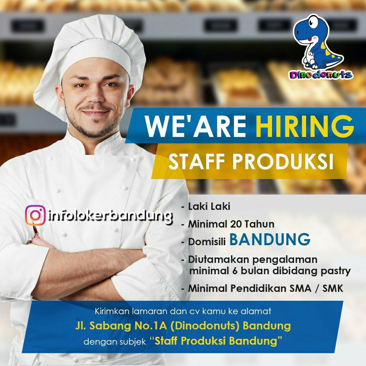 Lowongan Kerja Dino Donuts Bandung Januari 2018