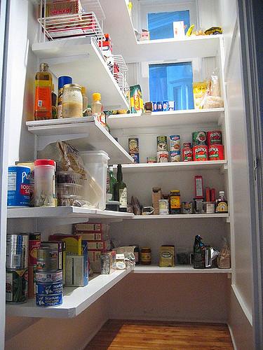 Il rifugio perfetto organizziamo la dispensa - Creare una cucina ...