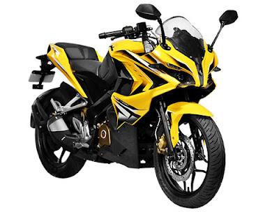 Bajaj Pulsar RS 200 sport bike Image