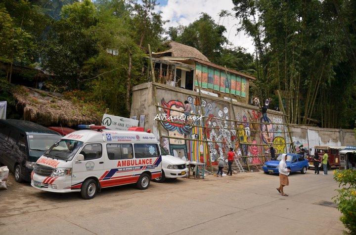 Tamawan Village Graffiti Mural Behind the Scenes