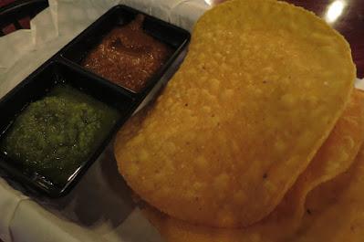 Vatos Urban Tacos, tortilla chips