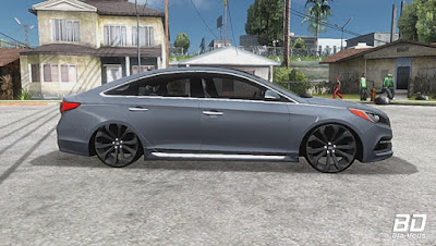 Download , Mod , Carro , Hyundai Sonata Pc leve com som para GTA San Andreas, GTA SA , Jogo PC