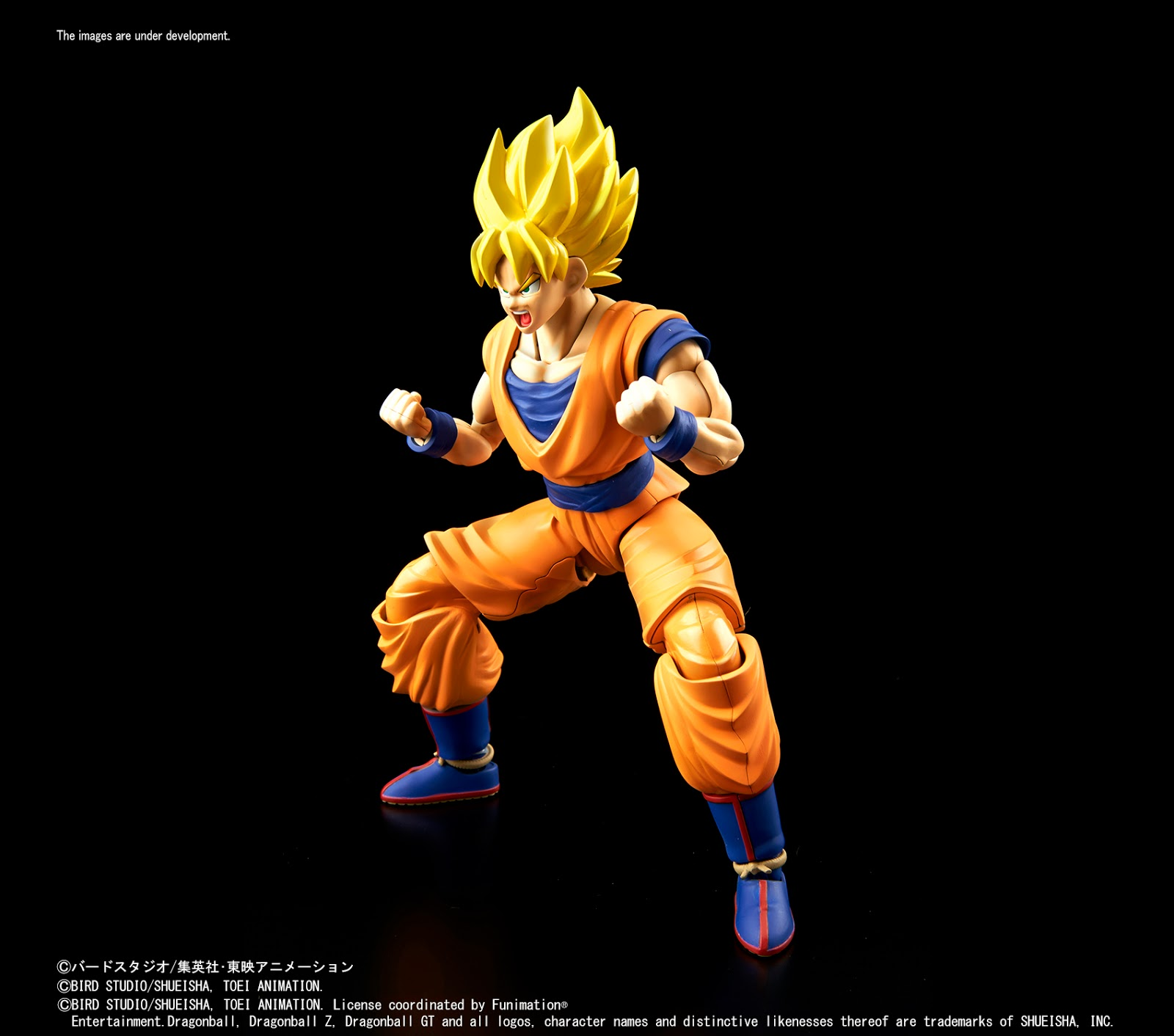 Also Check Out Displays Of A Pair Upcoming New Dragon Ball Z Model Kits From Bandais Innovative Figure Rise Line