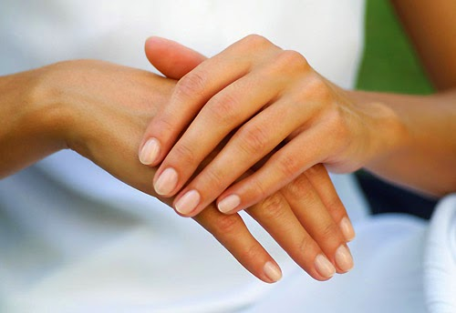 hand care at home spa