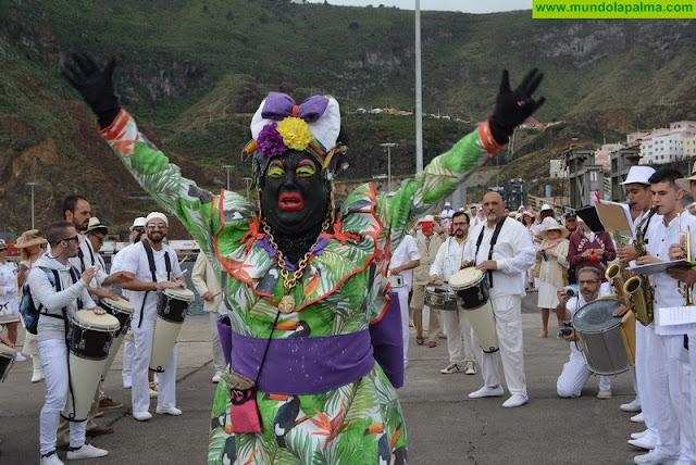 Insignia de Oro de Santa Cruz de La Palma a Víctor Díaz, 'Sosó', La Negra Tomasa, Indianos de La Palma