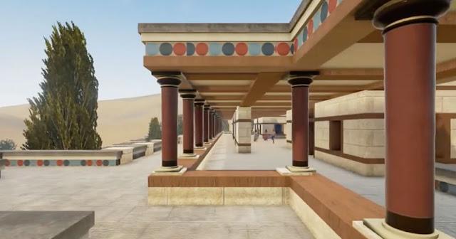 Εκπληκτική τρισδιάστατη απεικόνιση: Το παλάτι της Κνωσού (βίντεο)