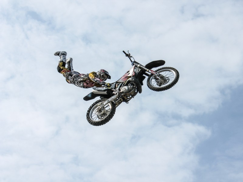 Download Bike Jump HD wallpaper. Click Visit page Button for More Images.