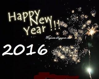 Tahun baru 2016 dp walpaper BBM facebook twitter foto tahun baru