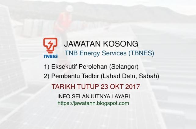 Jawatan Kosong di TNB Energy Services