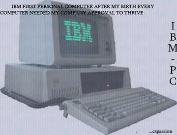 IBM-First ever Personal Computer