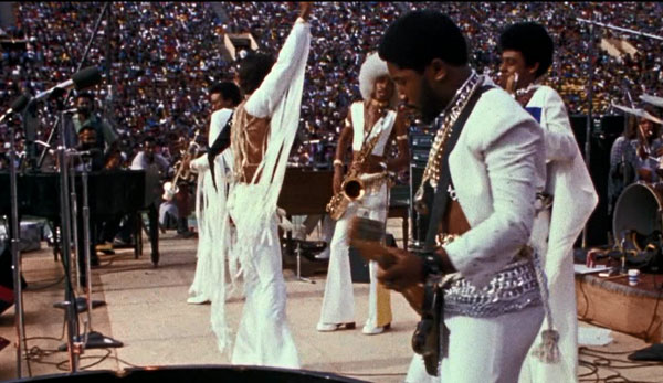 The Bar-Kays hit the stage in Wattstax