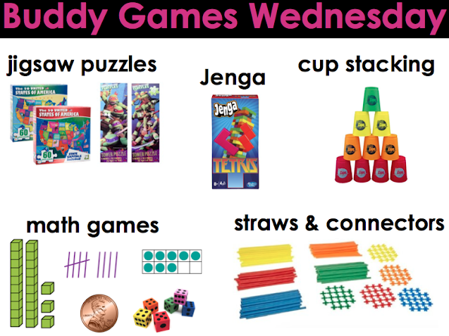 Buddy Games Wednesday Choices
