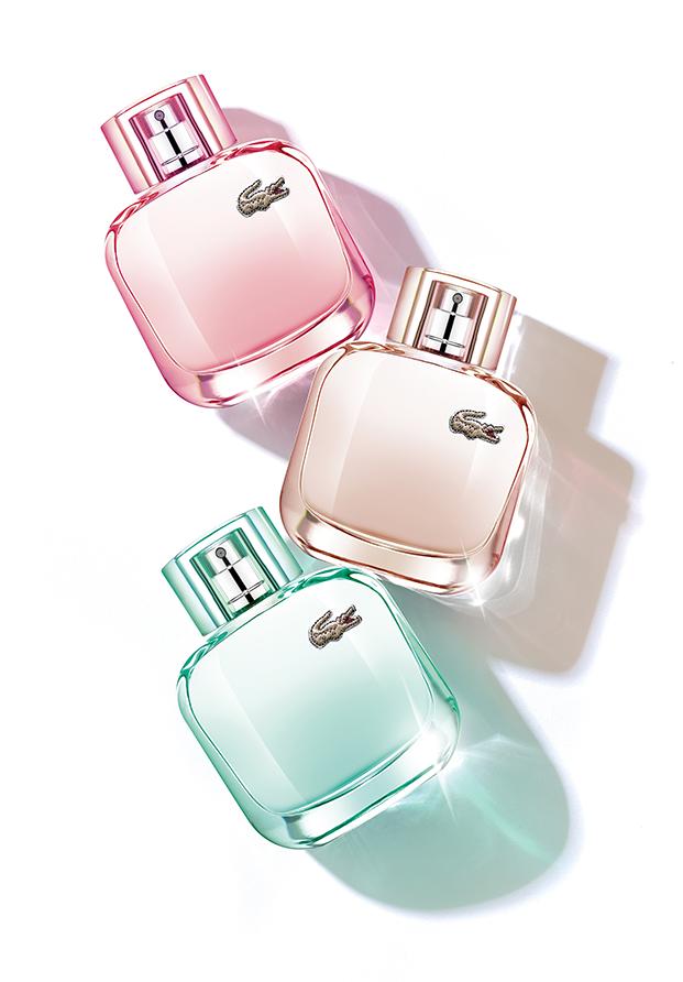 Elegant, Natural y Sparkling, las nuevas fragancias de Lacoste para esta Navidad