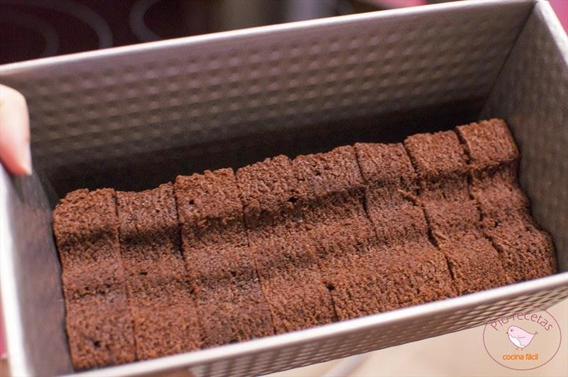 murcielagos de chocolate en el molde