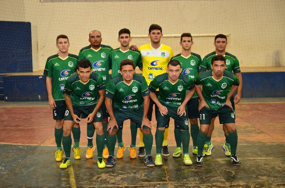 3cacc476de Juninho Leãozinho marca três e Nacional vence de goleada na estreia da Copa  Patos Carreiros de Futsal