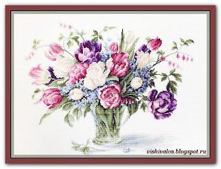 """Luca-S B2261 """"Тюльпаны"""""""