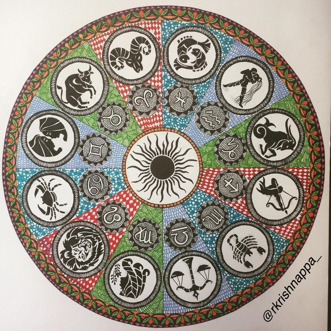 10-Zodiac-Mandala-Rashmi-Krishnappa-Calm-and-Serenity-in-Balanced-Pen-drawings-www-designstack-co