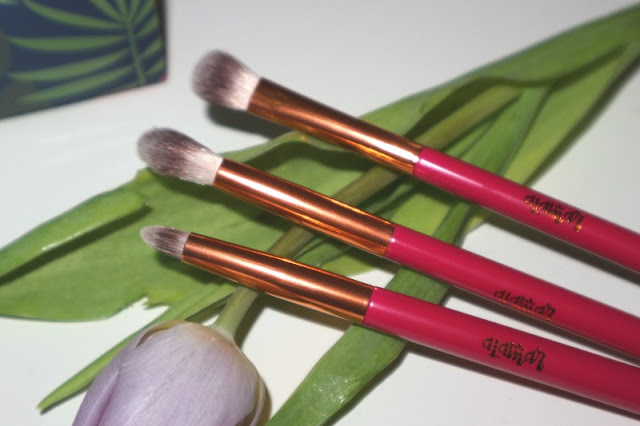 Ojitos brush set