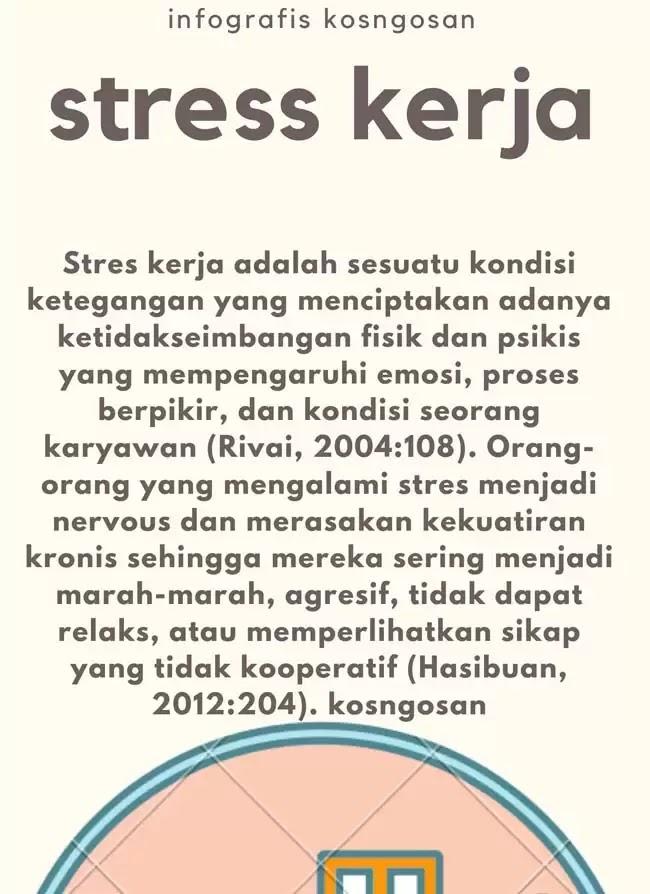 penyebab stress kerja